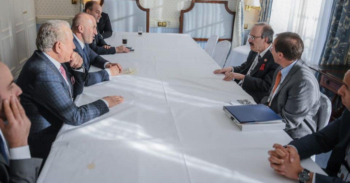 Haradinaj takon kongresistin amerikan, Eliot Engel – kërkon përkrahjen e mëtejme të SHBA-së