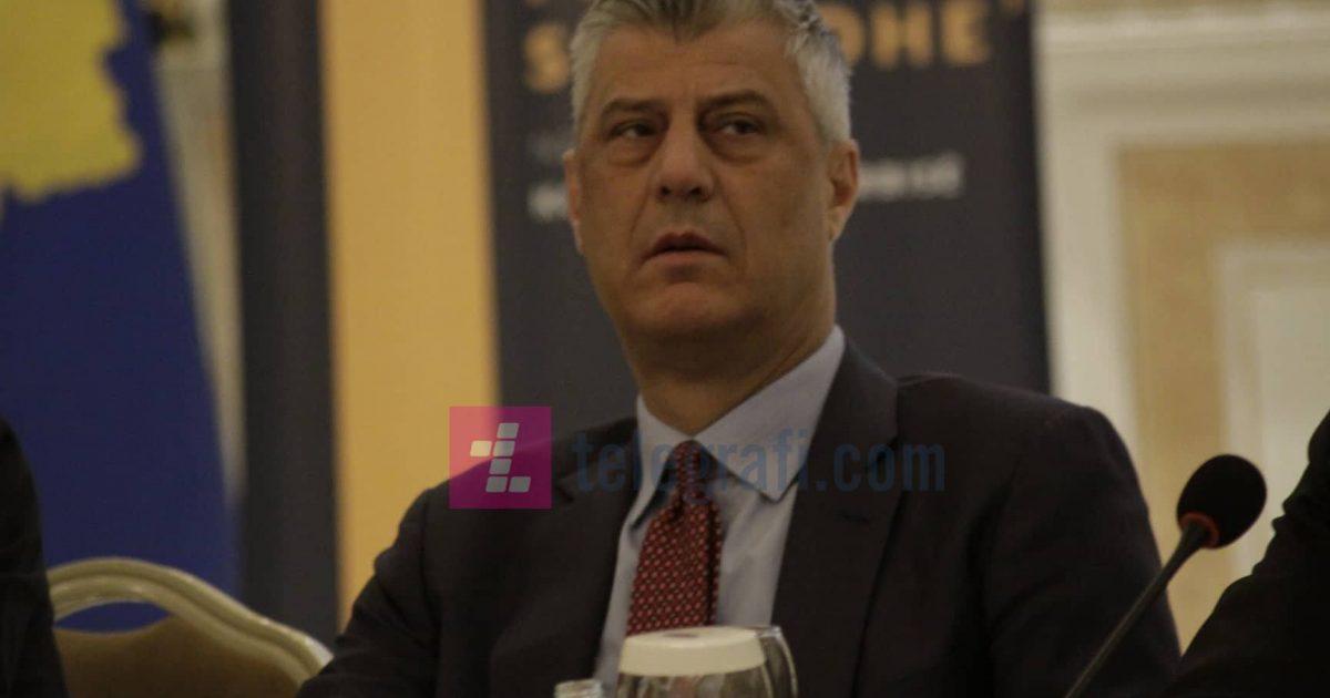 Thaçi: Ka ardhur koha t'i lëmë prapa armiqësitë dhe të bëjmë marrëveshje me Serbinë