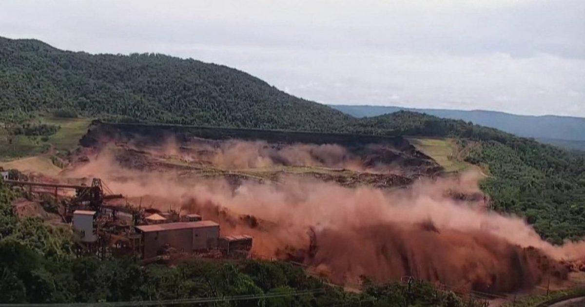 Publikohen pamjet e momentit të çarjes së digës në Brazil që mori jetën e 300 personave