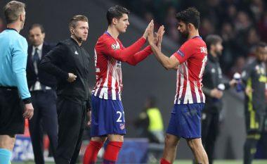 Simeone i lumtur që ka në skuadër Moratan dhe Costan