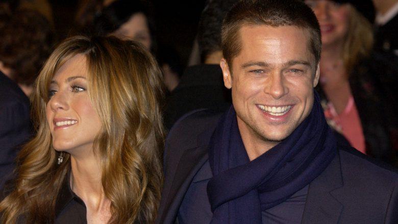Jennifer Aniston dhe Brad Pitt (Foto: Vince Bucci/Getty Images/Guliver)