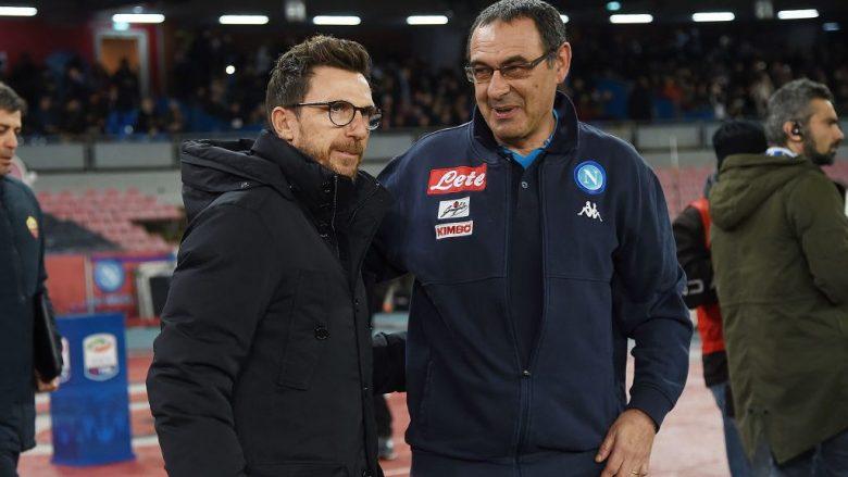 Di Francesco dhe Sarri (Foto: Francesco Pecoraro/Getty Images/Guliver)