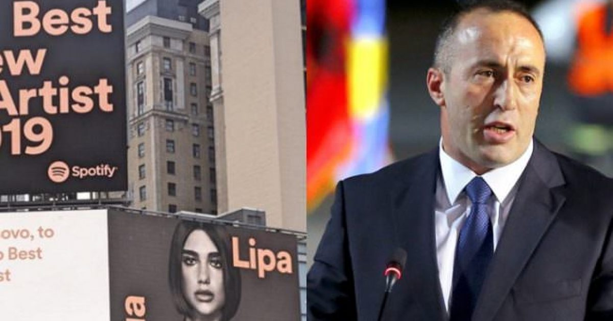 """Haradinaj për suksesin e Lipës në """"Grammy Awards"""": Kosova është me fat që në botë përfaqësohet me emrin tënd"""