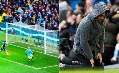 Edhe Guardiola nuk i beson syve se çfarë rasti për gol lëshoi Aguero, por nuk kaloi shumë dhe argjentinasi ia dëshmoi të kundërtën