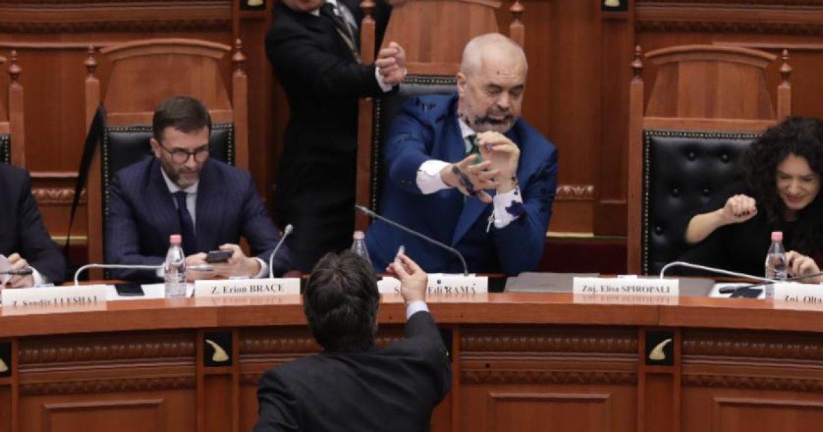 Hetim penal për deputetin e PD-së që gjuajti me ngjyrë Edi Ramën
