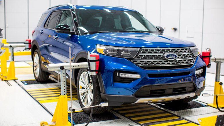 Ford Explorer 2020 me enterier shumë të qetë (Foto)