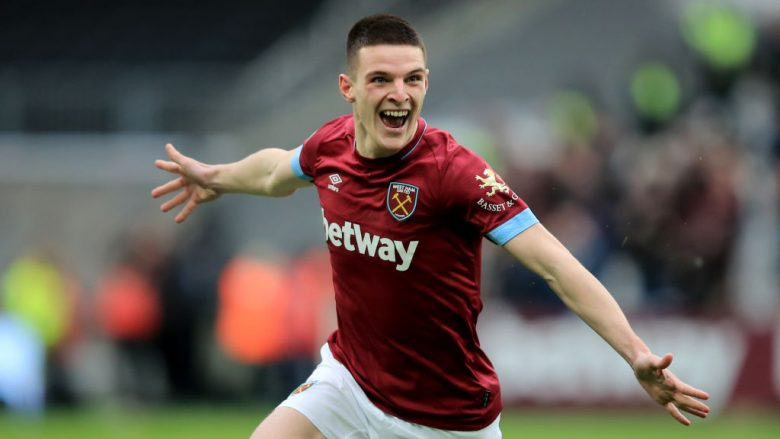Declan Rice (Photo by Marc Atkins/Getty Images)