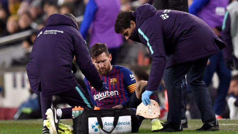 Nuk ka shqetësim për Messin, ai pritet të luajë në El Clasico
