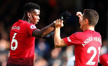Notat e lojtarëve: Fulham 0 - 3 Man. Utd, shkëlqim i Martial dhe Pogbas