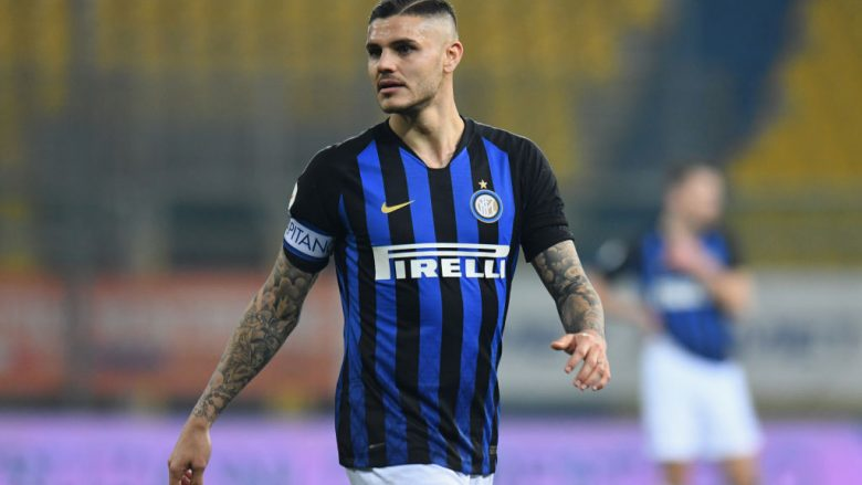Mauro Icardi .  (Photo by Alessandro Sabattini/Getty Images)