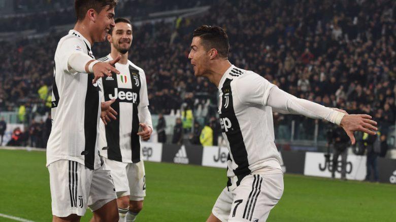 Juventusi e kalon me lehtësi Frosinonen, vazhdon kryesimin bindshëm