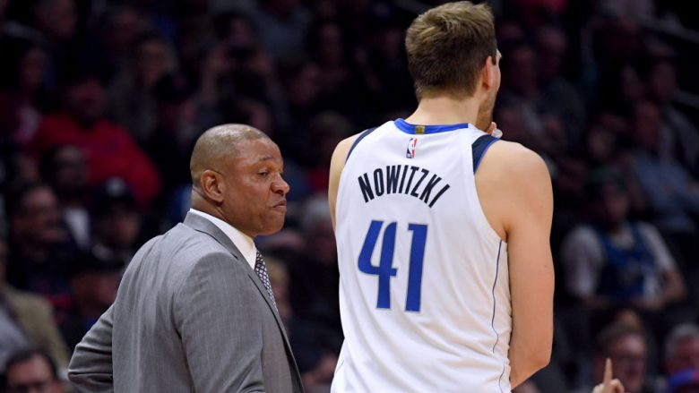 Doc Rivers dhe Dirk Nowitzki (Photo by Harry How/Getty Images)