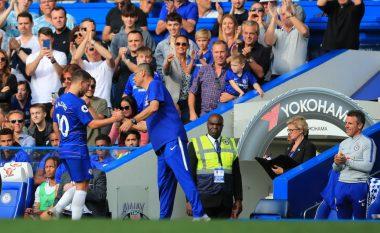 Melchiot: Taktikat e Sarrit po e detyrojnë Hazardin e Kanten të largohen nga Chelsea