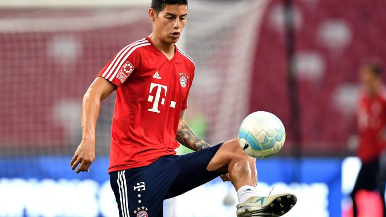 James Rodriguez (Photo by Thananuwat Srirasant/Getty Images  for ICC)