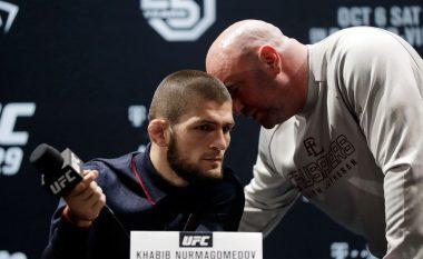 Khabib: Nuk vendos presidenti i UFC-së nëse unë përballem me McGregorin apo jo