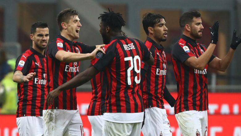 Milani futet në zonën e LK-së pas fitores ndaj Cagliarit në San Siro