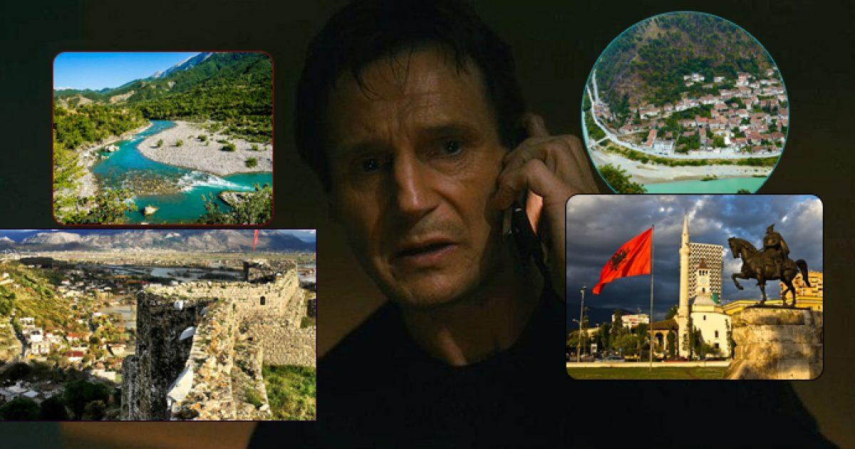 """Promovimi i bukurive të Shqipërisë përmes një reagimi ndaj filmit """"Taken"""" dhe protagonistit Liam Neeson"""