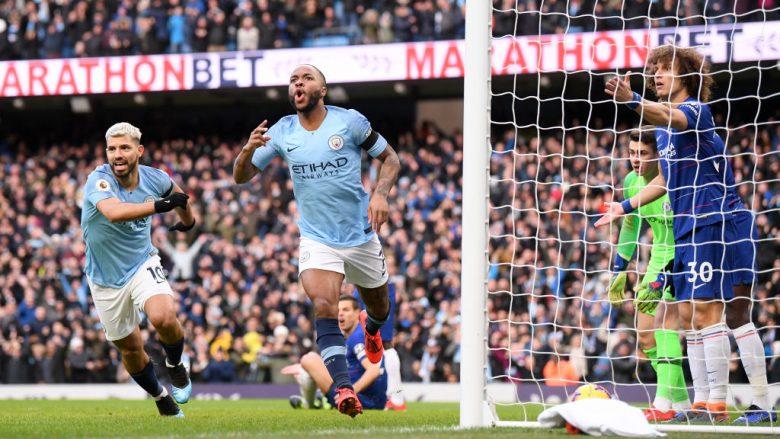 Man City 6-0 Chelsea, notat e lojtarëve