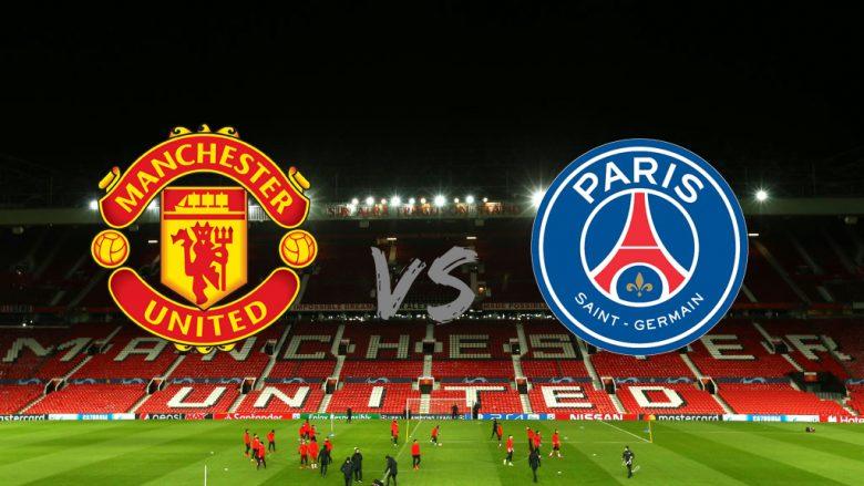 Formacionet zyrtare: United dhe PSG zhvillojnë sfidën e parë në Ligën e Kampionëve
