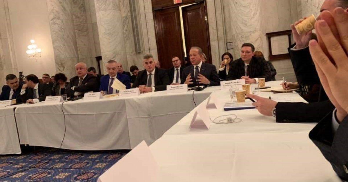 Pacolli në Senatin Amerikan: Prezenca amerikane në rajon është jetike për paqen dhe demokracinë, Ballkani i takon NATO-s