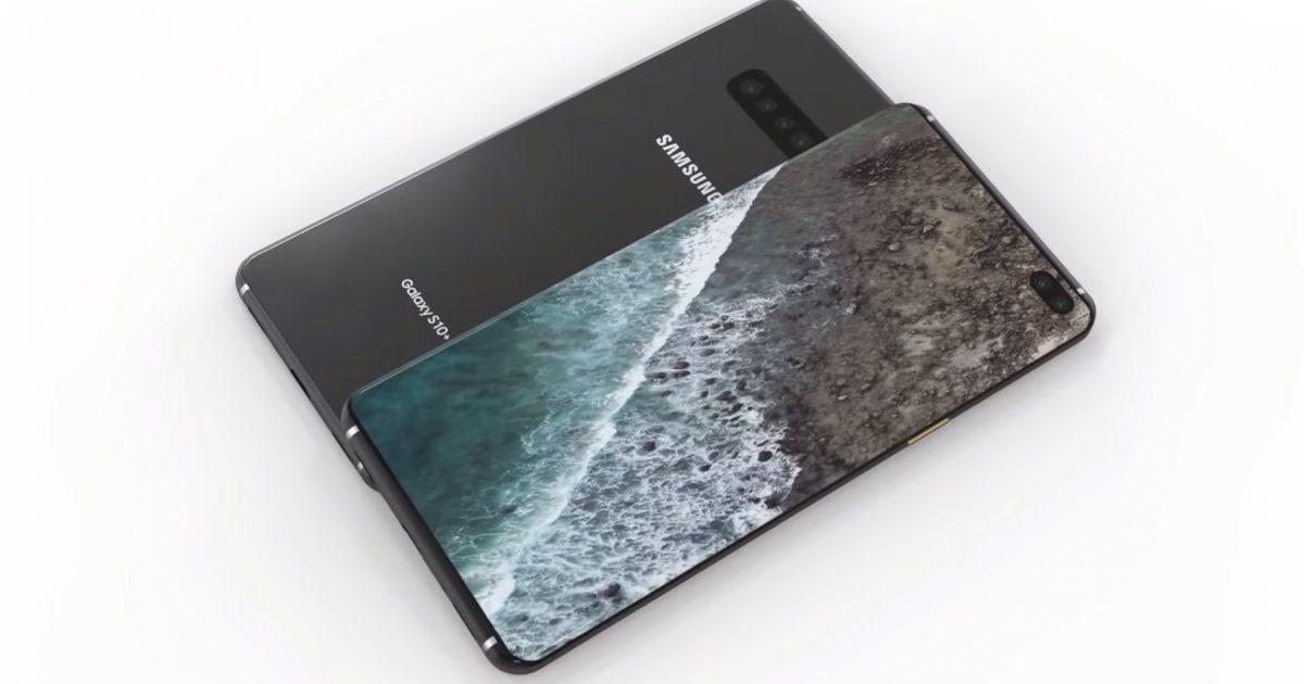 Samsung Galaxy S10 Plus shihet në foton zyrtare