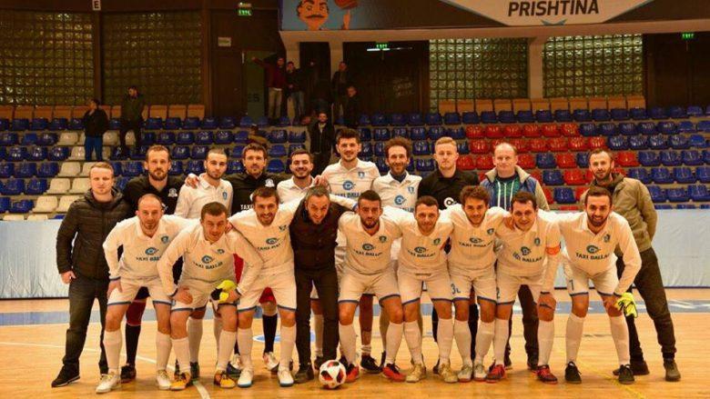 Prishtina 01 arrin në finale të Kupës së Kosovës në futsall vetëm gjashtë muaj pas themelimit, takohet me Liburnin