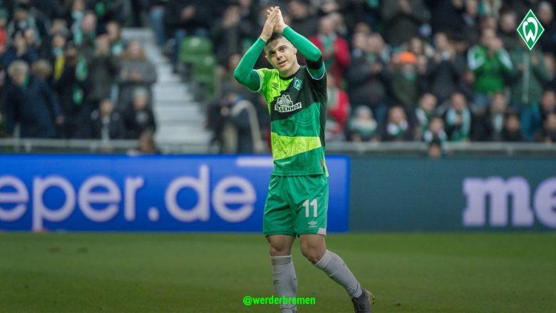 Milot Rashica (Foto: Werder Bremen/Twitter)