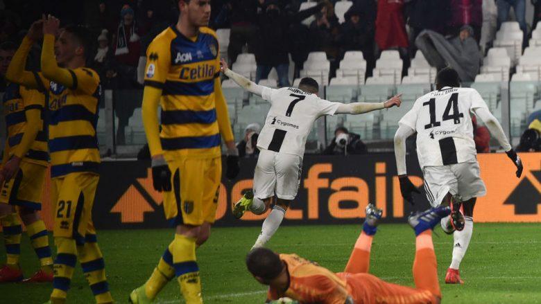 Festa e Ronaldos pas golit të parë (Foto: Tullio M. Puglia/Getty Images/Guliver)