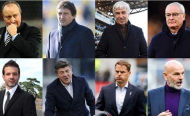 Interi sa shumë dështime në bankë në nëntë vite: Pas largimit të Mourinhos, kanë dështuar 11 trajnerë