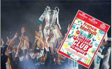 France Football zgjedh klubet më të mëdha në botë – Real Madridi mbretëron, pesë klube angleze në top 10