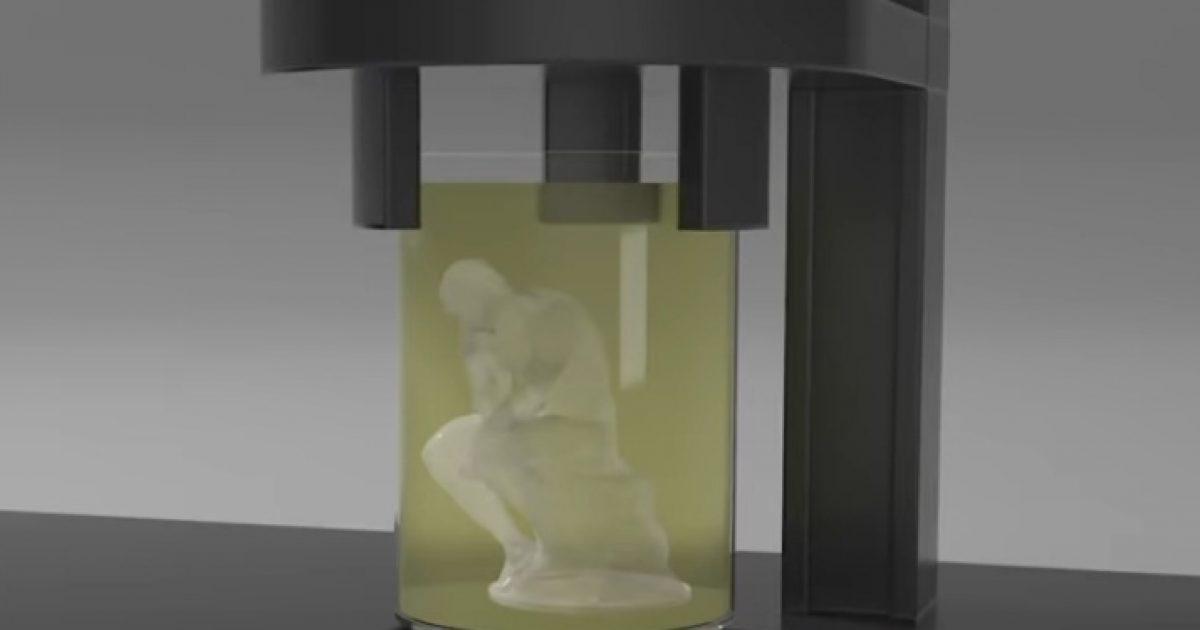 Shtypësi 3D printon gjësende që duket sikur shfaqen nga askund (Video)