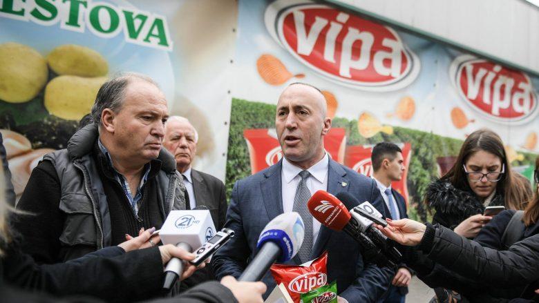 Haradinaj: Taksa ndaj Serbisë, rriti shitjet e produkteve vendore