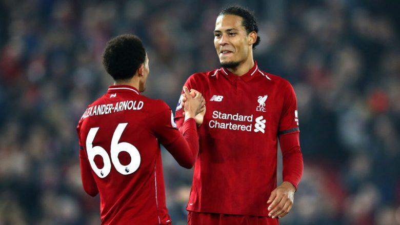 Virgil van Dijk dhe Alexander-Arnold (Foto: Clive Brunskill/Getty Images/Guliver)