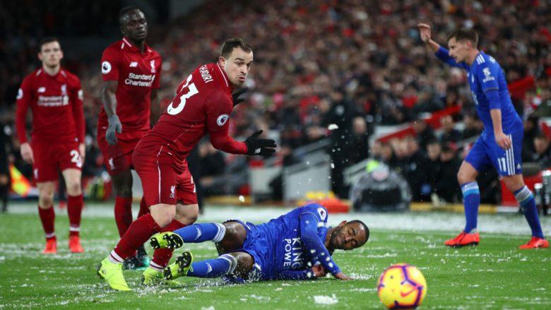 Pas dy dështimeve radhazi të Liverpoolit, Shaqiri: Nuk jemi në presion, do të mbetemi të parët deri në fund