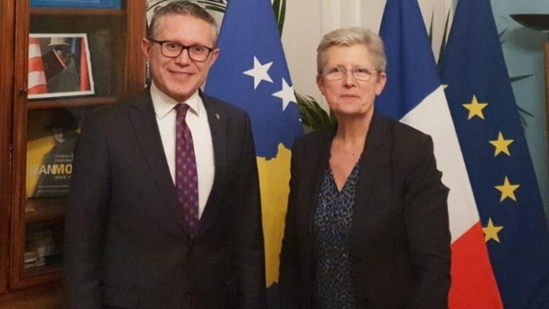 Kosova e sheh Francën si partner të rëndësishëm në forcimin e institucioneve dhe të sigurisë