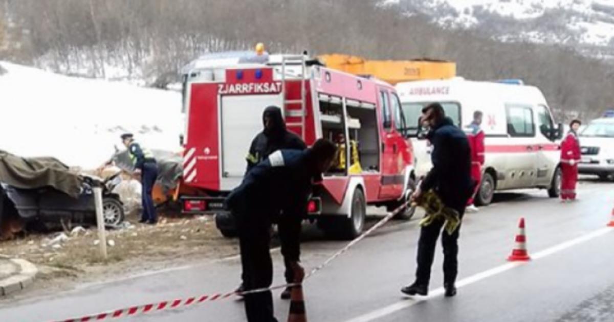 Babai me dy djemtë e tij, viktima të aksidenti tragjik në Zhur të Prizrenit