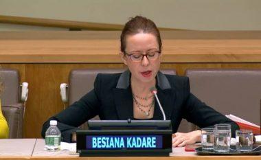 Ambasadorja e Shqipërisë në OKB nuk deklarohet pas injorimit që i bëri konsulles së Kosovës, Teuta Sahatqija