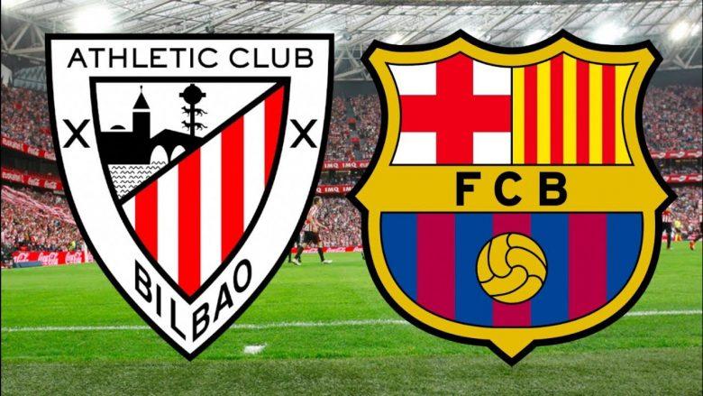 Bilbao – Barcelona, formacionet zyrtare