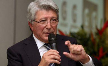Presidenti i Atleticos, Cerezo: VAR-i është turpi i futbollit
