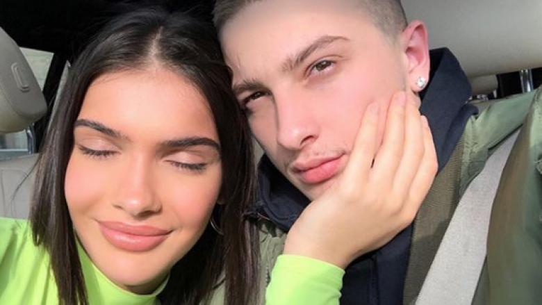 Arbenita, e dashura e Feros, ndiqet në Instagram nga Chris Brown