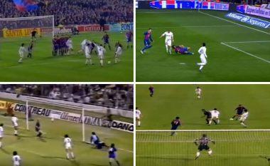 Nga Dani Alves e Cristiano Ronaldo te Laudrup: Dhjetë golat më të mirë në histori të El Classicos së Copa del Rey