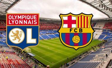 Lyon-Barcelona: Formacionet zyrtare, Valverde më një dyshim në sulm