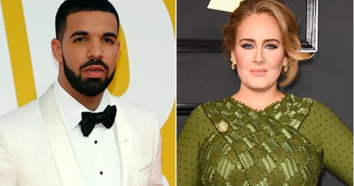 Drake dhe Adele takohen dhe luajnë Bowling