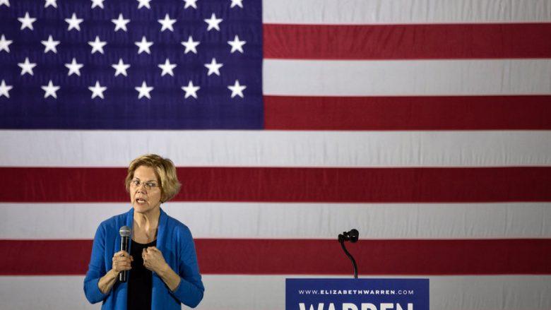 """Warren: Trump """"mund të jetë në burg"""" deri në vitin 2020"""