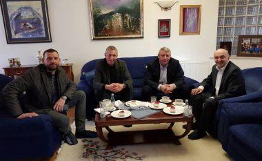 Sylejman Selimi viziton Isa Mustafën