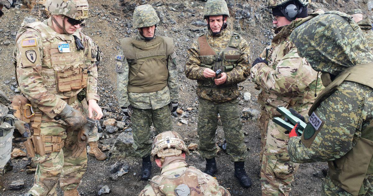 Operacion i përbashkët i ekspertëve amerikanë dhe FSK-së për demolimin e mjeteve të pashpërthyera