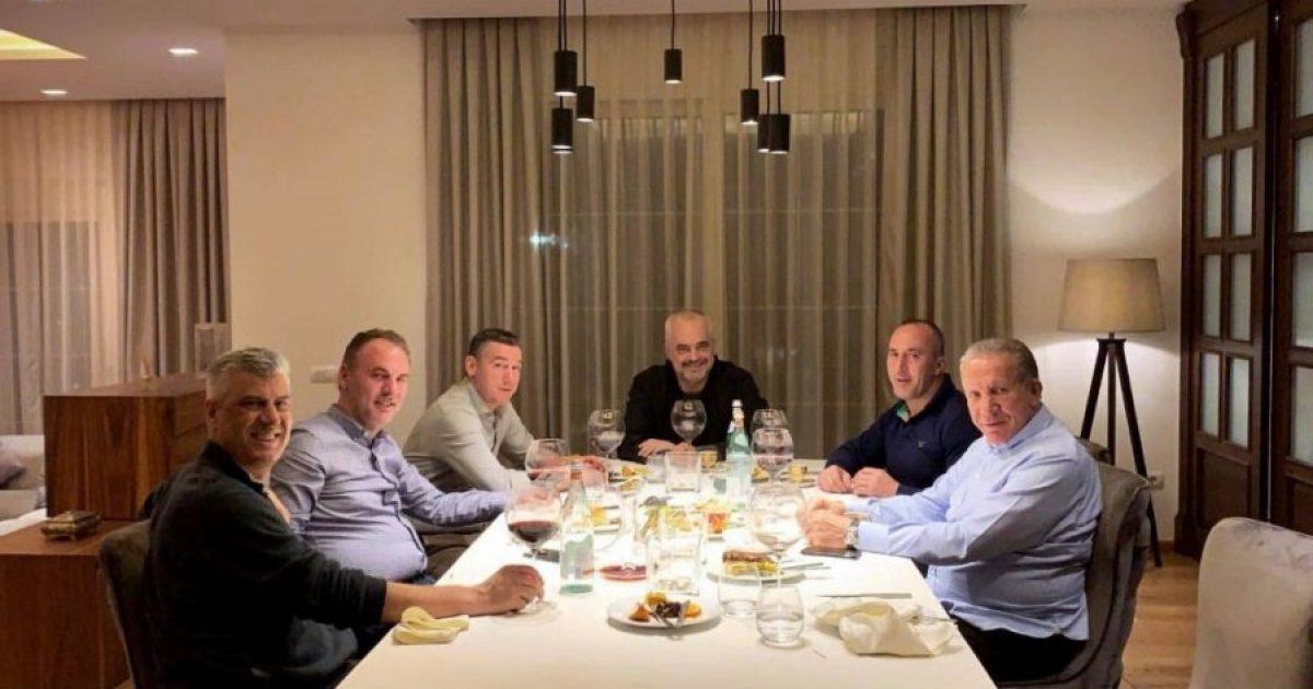 Liderët kosovarë dhe Edi Rama në darkë të përbashkët, a e bindën Haradinajn ta pezullojë taksën?