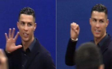 Ronaldo nuk përmbahet as në tunelin e stadiumit: Kam fituar pesë Liga të Kampionëve, Atletico zero