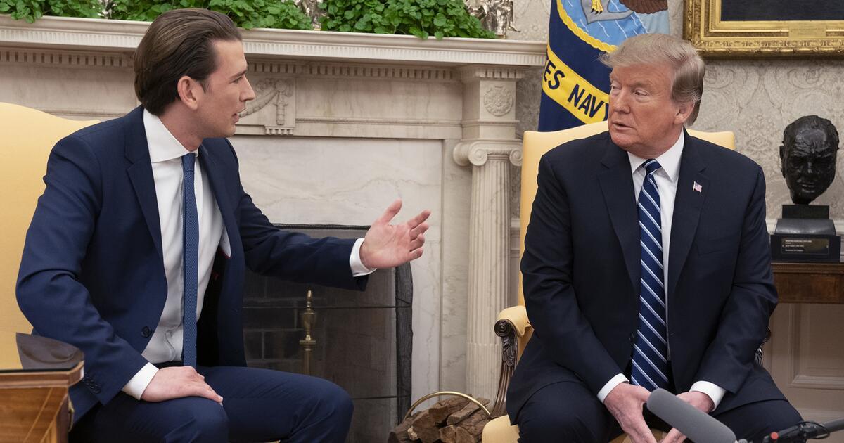 Kancelari austriak, pas takimit me Trump: Nëse Kosova dhe Serbia pajtohen, ne dhe Amerika nuk duhet të jemi pengues – qoftë edhe për shkëmbim të territoreve