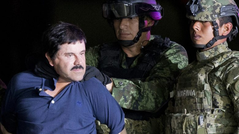 """Joaquín """"El Chapo"""" Guzmán was extradited to the U.S. in 2017 after two successful escapes from Mexican prisons. On Thursday, the Justice Department announced two of his sons have been indicted on a drug conspiracy charge. Both brothers are believed to be fugitives in Mexic"""